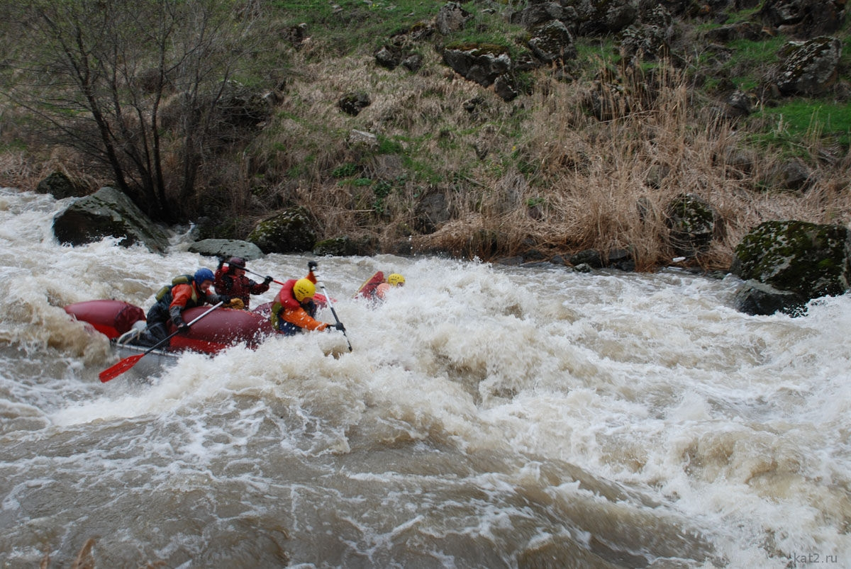 Rafting on Mtiuleti's Aragvi